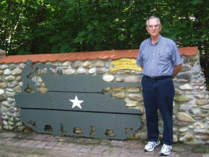 Site of Lt. Audie Murphy 's Medal of Honor action at Holtzwihr, Alsace, France, 1945. 2009/10.