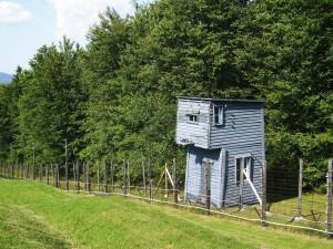 Natzweiler-Struthof Nazi concentration camp, Vosges Mountains, Alsace. 2009/10.