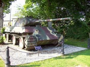 German Mk IV Panther tank at Manhay, Belgium. 2008/10.