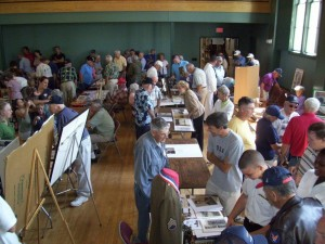 """Salute to WWII Veterans Jamboree"" memorabilia exhibition. 2009"