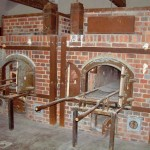 Prisoners and deported European Jews and others were burned in these ovens at Dachau concentration camp crematorium, near Munich, Germany. 2008/10