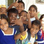 Tarawa kids - everywhere. 2008/09