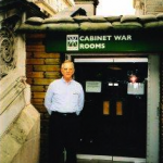At Churchill's WWII Cabinet War Rooms, London. 2004.