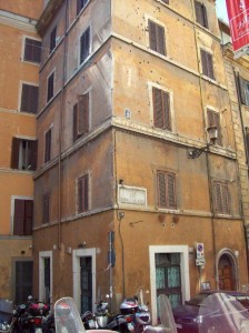Villa Rosella in Rome, site of partisan ambush that killed 32 German police soldiers in 1944. 2007.