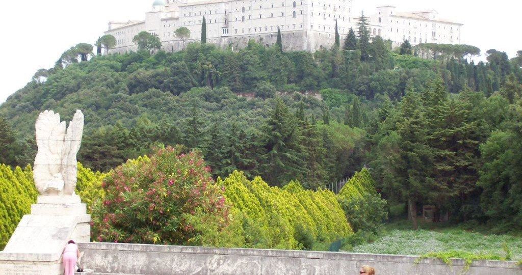 The abbey at Monte Cassino, Italy, scene of brutal fighting in Italian Campaign, 1944. 2007.