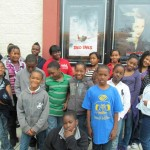 The Community Boys & Girls Club of Wilmington were guests of the World War II Wilmington Home Front Heritage Coalition at a showing of the George Lucas movie,