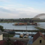 Bridge over Waal River at Nijmegen, Netherlands, named for Gen. Gavin, C.O. of 82nd Airborne Division. 2010