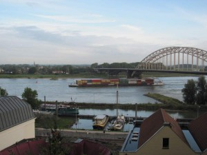 Bridge over Waal River at Nijmegen, Netherlands, named for Gen. Gavin, C.O. of 82nd Airborne Division. 2010