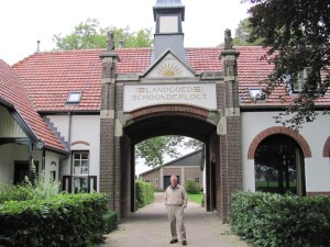 "Schoonderlogt farm building used as Easy Company's battalion (10st Airborne) HQ in ""Band of Brothers."" Netherlands. 2010."