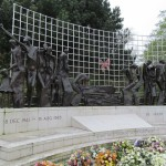 WWII memorial to the service of Dutch East Indies (now Indonesia). The Hague, Netherlands. 2014.