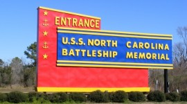entrance-to-nc-battleship-wilmington-nc